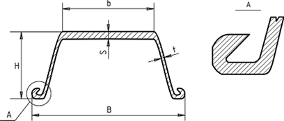Larsson sheet pile sections of a book